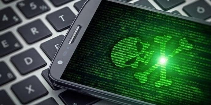 Hacked Android Smartphone